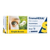 Cromohexal, krople do oczu 10 ml