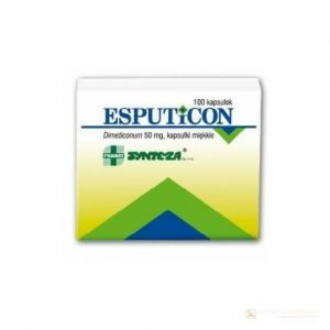 Esputicon 50 mg x 100 kaps.