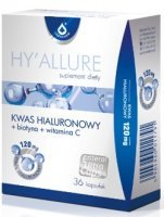HYALLURE Kwas hialuronowy 120 mg + biotyna + wit. C - 36 kaps.