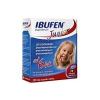 Ibufen Junior 200 mg x 10 kaps.
