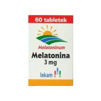 Melatonina 3 mg, LEK-AM x 60 tab.